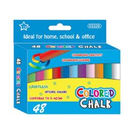 96 Bulk Forty Eight Count Colored Chalks