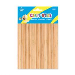 96 Bulk Wooden Craft Sticks