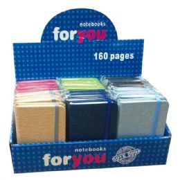 96 Bulk Notebook Assorted Colors