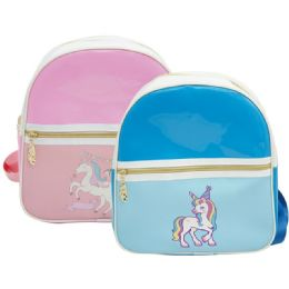 12 Bulk Kid's Backpack Unicorn