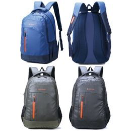 12 Bulk Backpack Waterproof Assorted