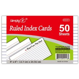 108 Bulk Ruled Index Cards