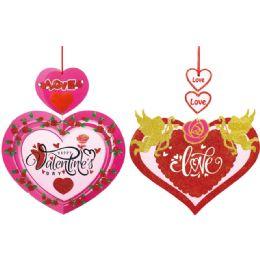 96 Bulk Valentines Day Plaque