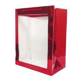 96 Bulk Hologram Window Bag Large Size