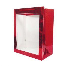 144 Bulk Hologram Window Bag Medium Size
