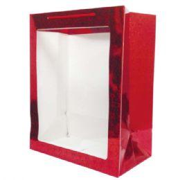 72 Bulk Hologram Window Bag In XLarge