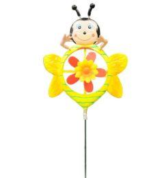 144 Bulk Lady Bug W. Flower Garden Decor