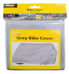 48 Bulk Bike Cover Grey Color Only