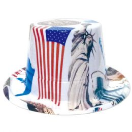 144 Bulk Usa Hat July Fourth