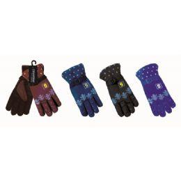 48 Bulk Men Winter Ski Glove