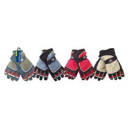 24 Bulk Men's Ski Gloves