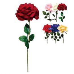 144 Bulk Twenty Eight Inch Rose Assorted Colors