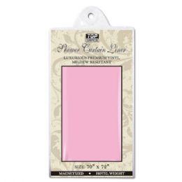 48 Bulk Shower Curtain 70x72/pink