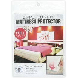 24 Bulk Zipped Mattress Cover Full