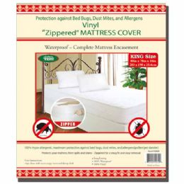 24 Bulk Zipped Mattress Cover King