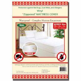 24 Bulk Zipped Mattress Cover Queen