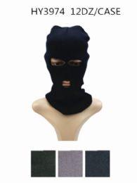 72 Bulk Unisex Winter Ski Mask Assorted Colors