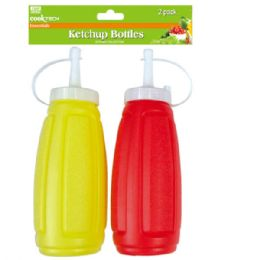 48 Bulk Two Piece Ketchup Bottle