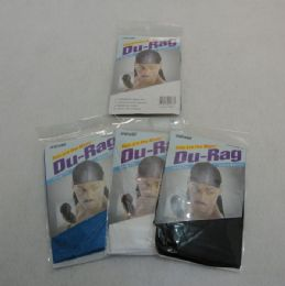 36 Bulk DU-Rags [assorted Colors]