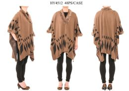 24 Bulk Ladies Winter Poncho