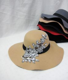 36 Bulk Womens Fashion Winter Hat With Flowers