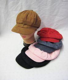 36 Bulk Womens Fashion Winter Cap Assorted Colors