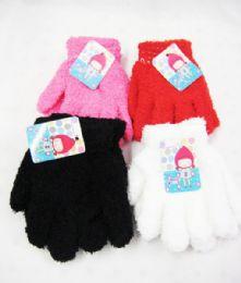 96 Bulk Kids Winter Warm Gloves