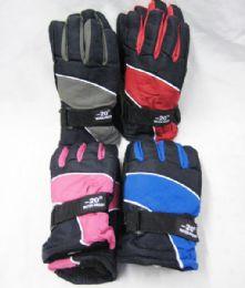 36 Bulk Winter Kids Snow Glove