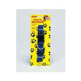 72 Bulk Snap Clip Dog Collar