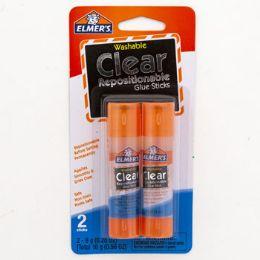 24 Bulk Glue Sticks 2ct Clear Elmers 2 - 0.28oz Sticks Clear