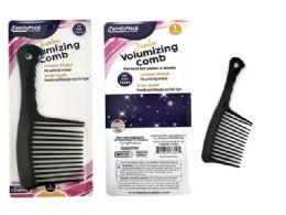 144 Bulk Black Jumbo Rake Comb