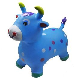 12 Bulk Inflatable Jumping Blue Cattle