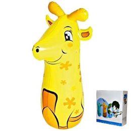 24 Bulk Inflatable Punching Bag Giraffe