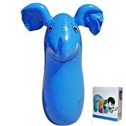 24 Bulk Inflatable Punching Bag Elephant