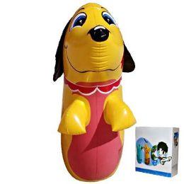 24 Bulk Inflatable Punching Bag Dog