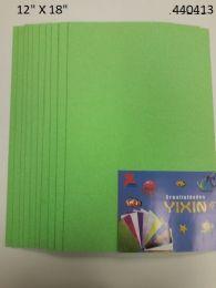 24 Bulk Eva Foam With Glitter 12x18 10 Sheets In Light Green