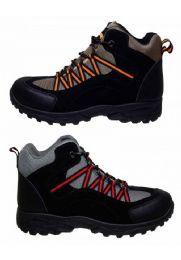12 Bulk High Top Sneakers In Black