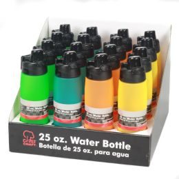 16 Bulk Water Bottle,frosted, Pdq 16 Pc.