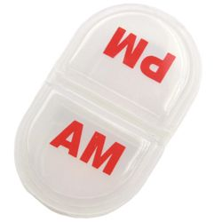 """72 Bulk Pocket Pill Pack 3"""" - A.m./p.m."""