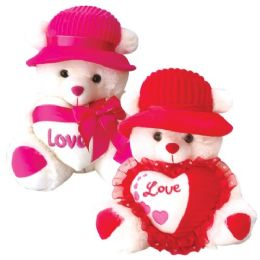 6 Bulk Twenty Inch Bear With Heart