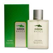 24 Bulk Mens Green Basics Perfume 100 Ml / 3.4 Oz. Sprays