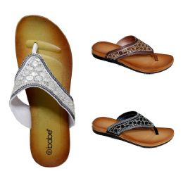 30 Bulk Women's Rhinestone Sandals