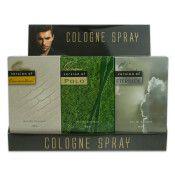 6 Bulk 12 Piece Counter Top Display 4 Each Of 3 Fragrances For Men Our Versions Of: Eternity, Oscar De La Renta, Polo
