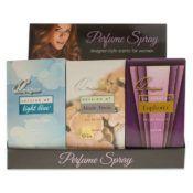 12 Bulk 12 Piece Counter Top Display 4 Each Of 3 Fragrances For Women Our Versions Of: Anais Anais, Euphoria, Light Blue