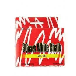 72 Bulk 36 Pack White Chalk