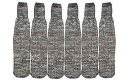 6 Bulk 6 Pairs Of Socksnbulk Mens Merino Wool Camouflage Tube Socks And Boot Socks