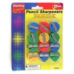 72 Bulk Fun Shape Pencil Sharpeners