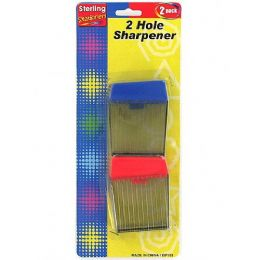 72 Bulk TwO-Hole Sharpener Set