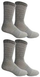 4 Bulk Yacht & Smith Womens Terry Lined Merino Wool Thermal Boot Socks