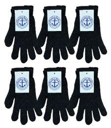 6 Bulk Yacht & Smith Unisex Black Magic Gloves